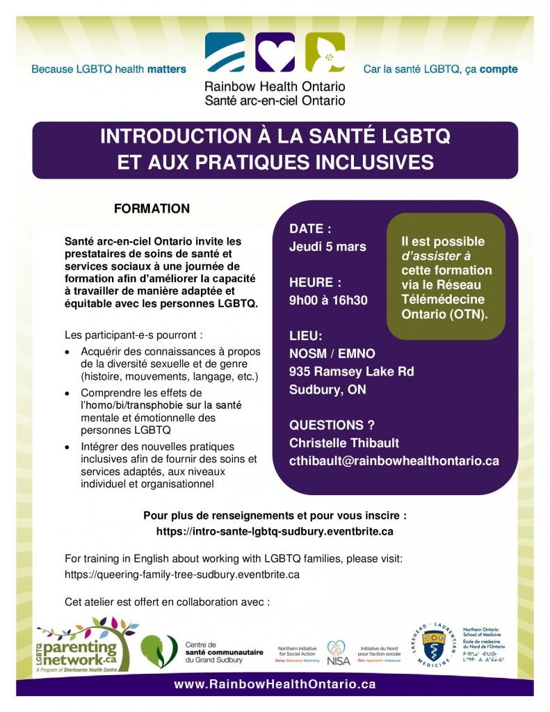 Introduction à la santé LGBTQ et aux pratiques inclusives