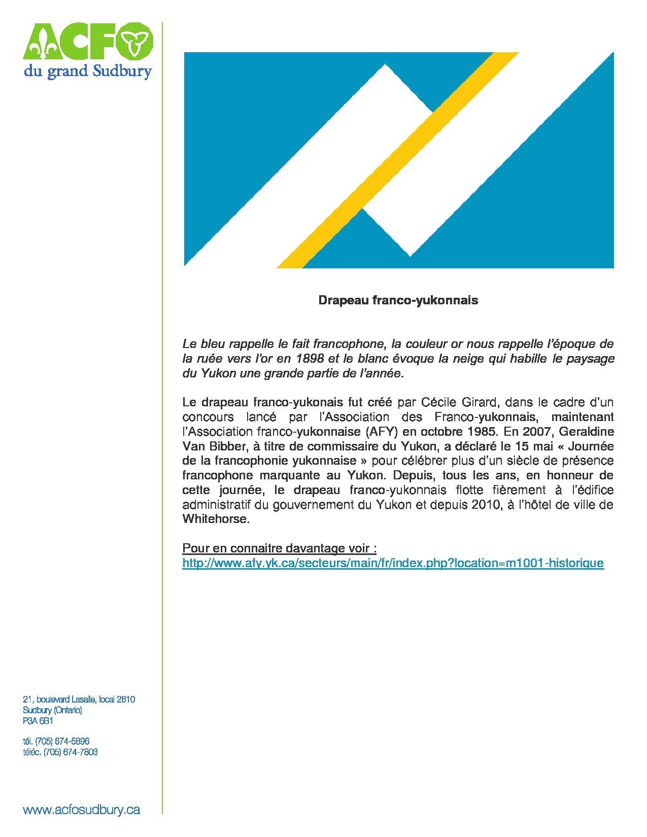 thumbnail of 16 mars – drapeau franco-yukonnais
