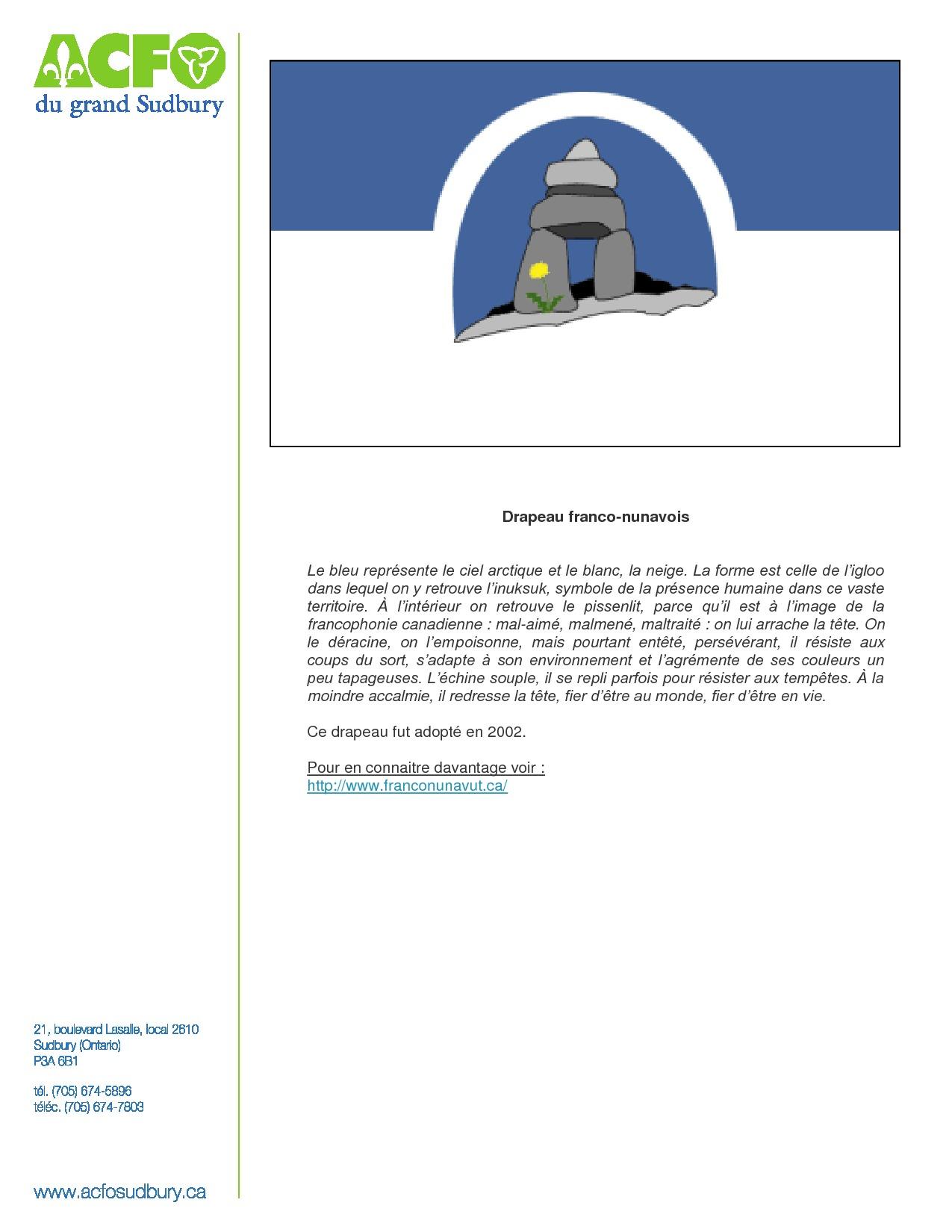 thumbnail of 21 mars – drapeau franco-nunavois