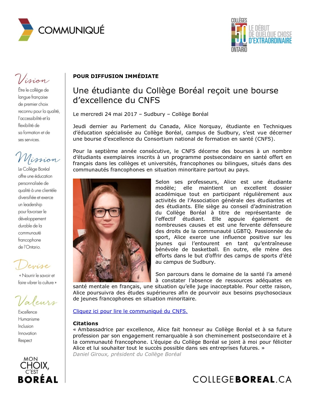 thumbnail of Communiqué_Alice_Norquay_Bourse_CNFS_2017