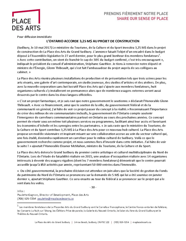 thumbnail of PdA Communiqué Ontario confirme son appui