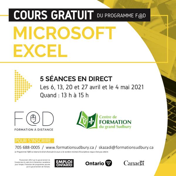 Cours Gratuit (Microsoft Excel)
