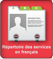 Répertoire des services en français