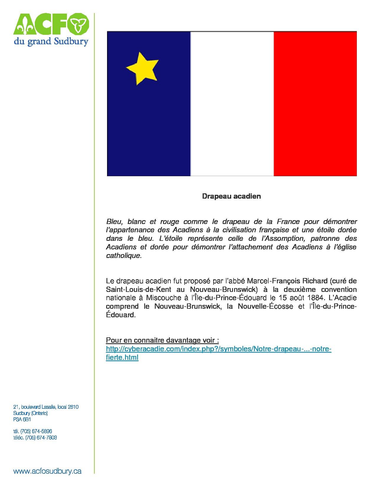 thumbnail of 8 mars – drapeau acadien