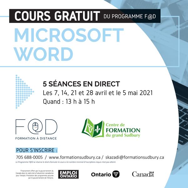 Cours Gratuit (Microsoft Word)