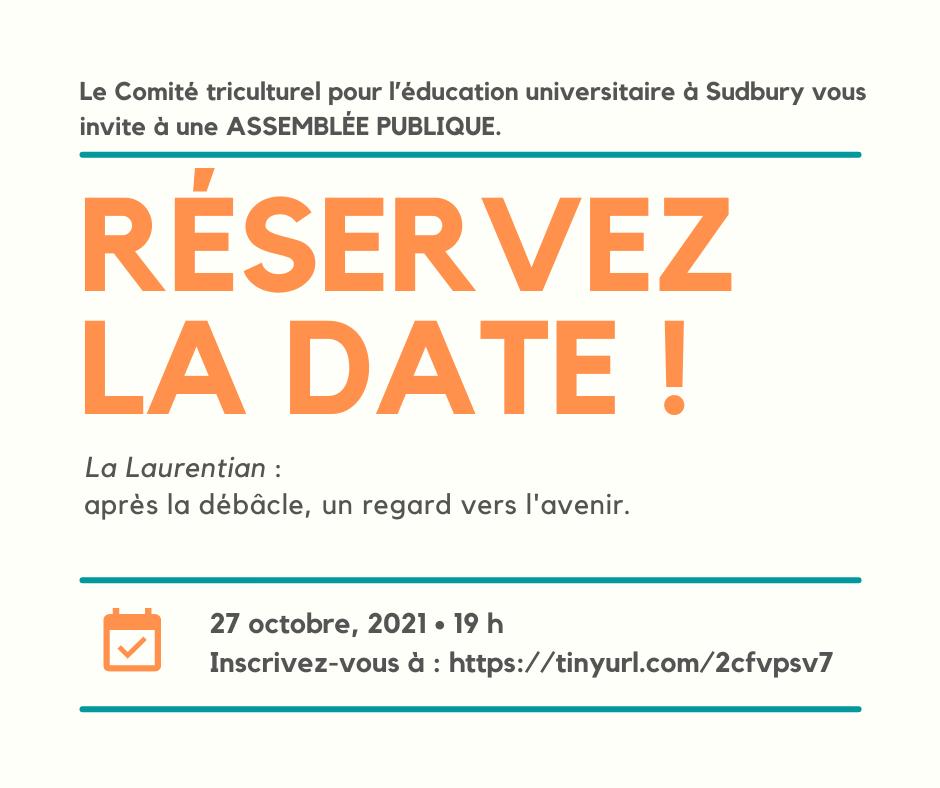Université Laurentienne : après la débâcle, un regard vers l'avenir